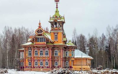 A Reconstructed Wooden Palace: The Tower-Chamber in Chukhloma, Kostroma region