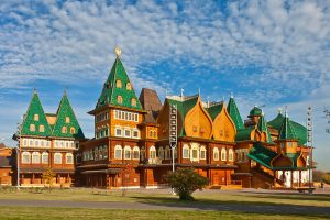 The 8th wonder of the world: the wooden palace of Tsar Alexei Mikhailovich in Kolomenskoye